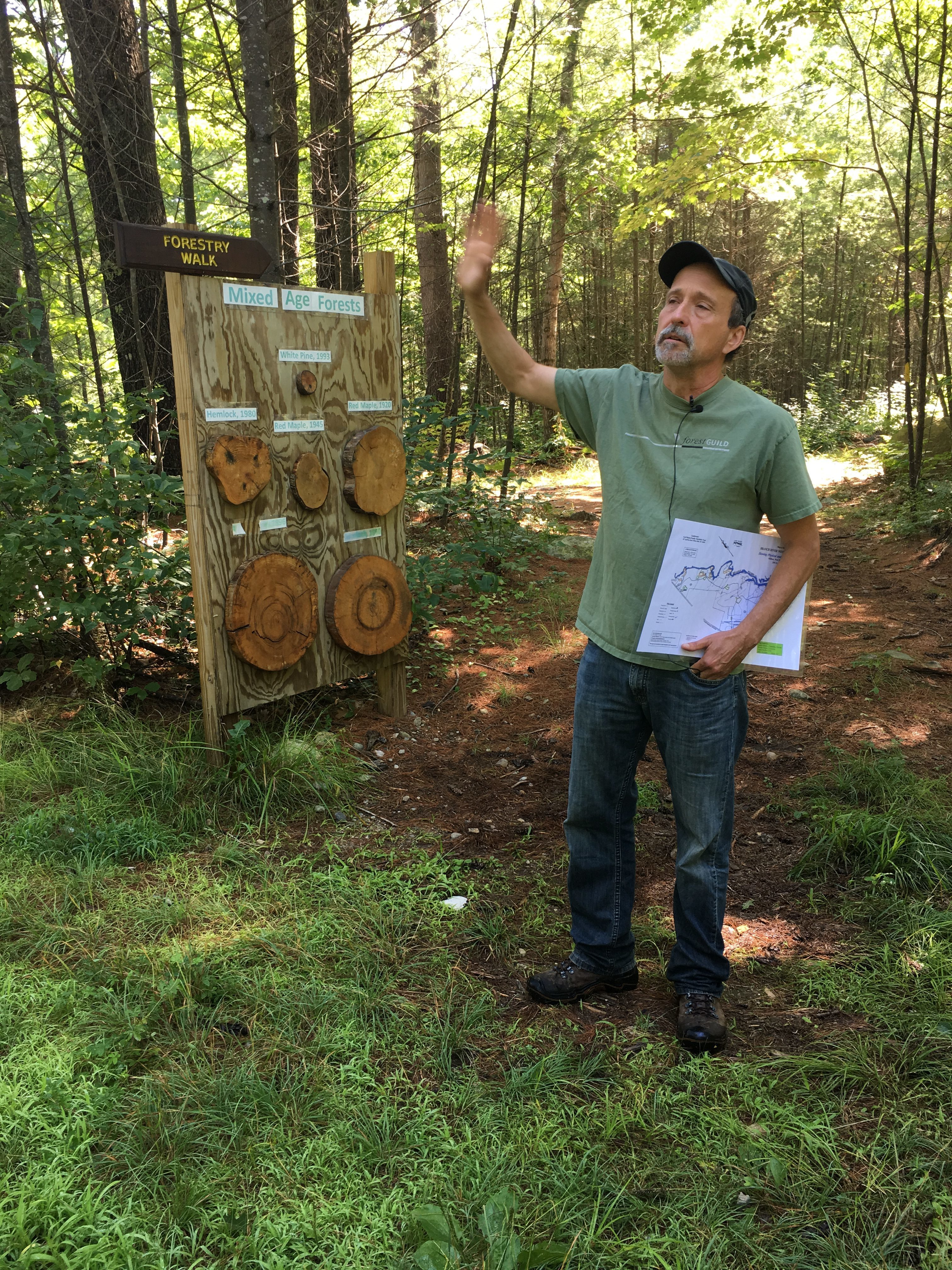 Charlie shares multiple forestry management practices.