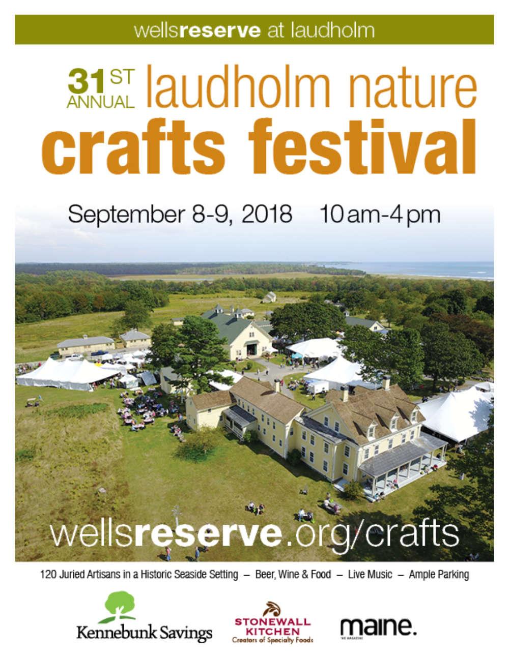 31st Laudholm Nature Crafts Festival Wells Reserve