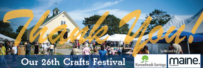 Thank you for making the 26th Laudholm Nature Crafts Festival a resounding success!