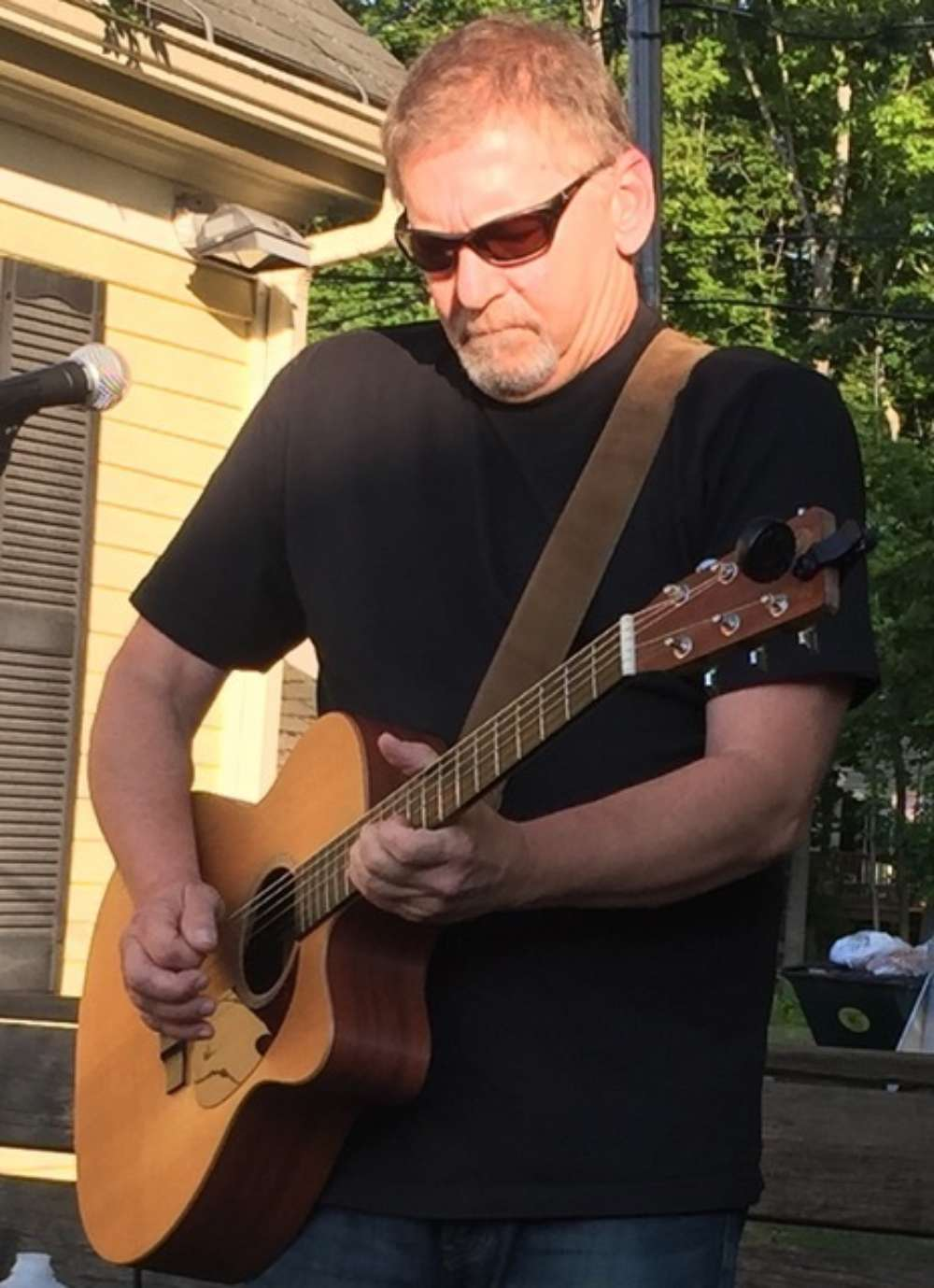 Scot Stinson has performed around southern Maine for 45 years. You can catch his loop artistry at Billy's Chowder House in Wells.