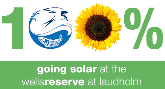 Going 100 percent solar at the Wells Reserve at Laudholm