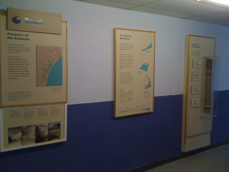 Exhibits mounted at Mildred L. Day School