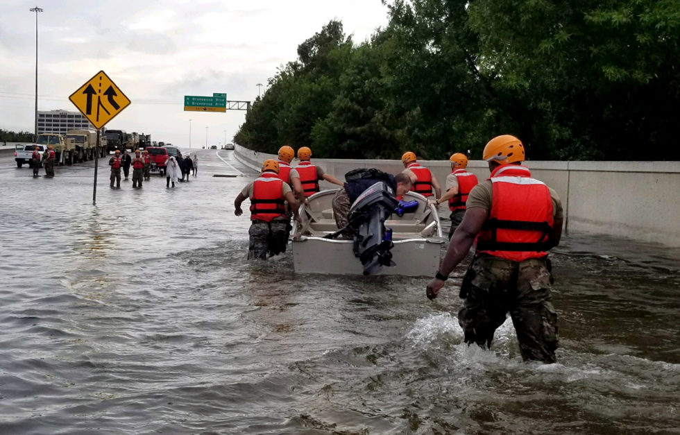 Texas Army National Guard Hurricane Harvey Response