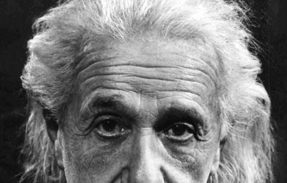 Einstein Sad Eyed