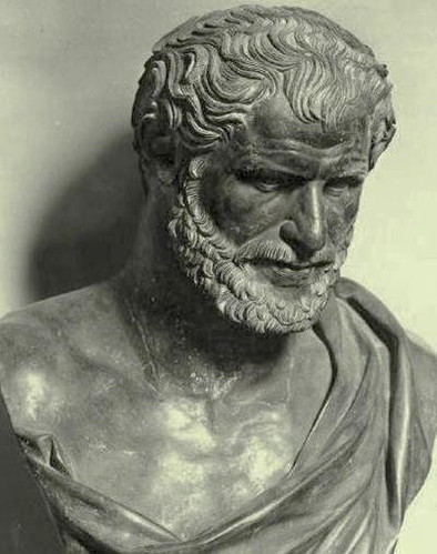 Bust of an unknown Greek - Museo archeologico nazionale di Napoli.jpg