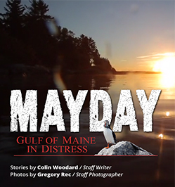 Mayday: Gulf of Maine in Distress. Graphic from Portland Press Herald series.