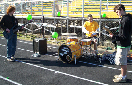 Nashoba Regional High School Earth Day entertainment.