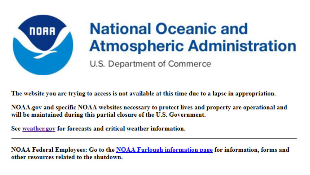 Site unavailable: Web page found at oceanservice.noaa.gov on January 23, 2019.