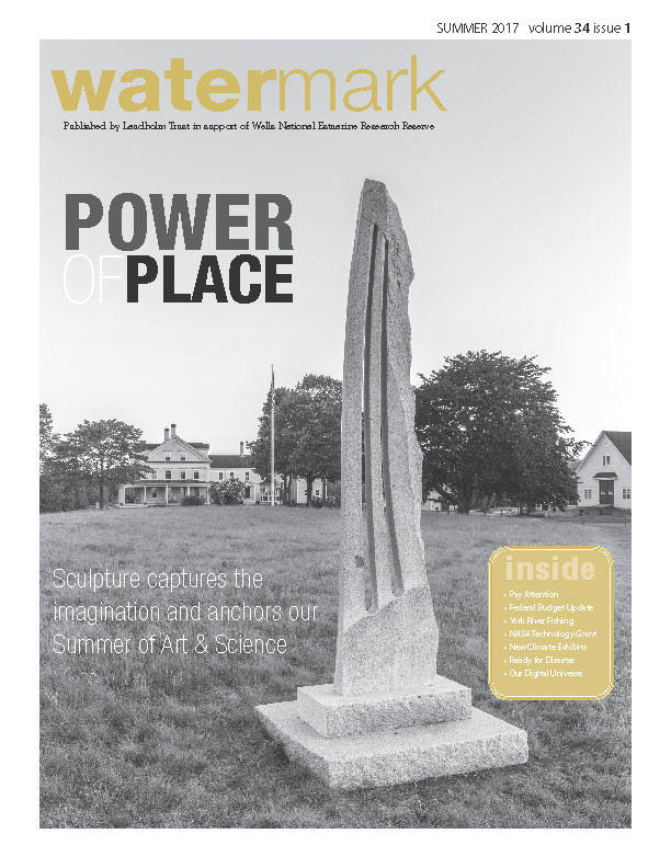 Cover of Watermark newsletter, Summer 2017
