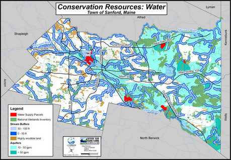 Water Resources Map