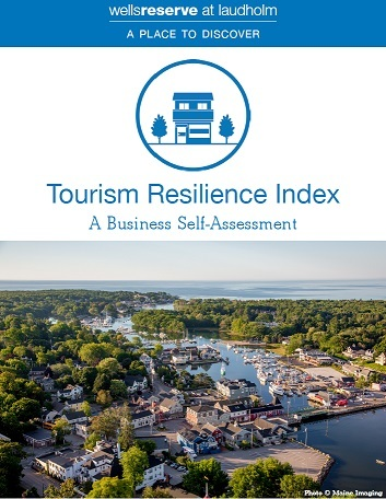 Cover of document: Tourism Resilience Index